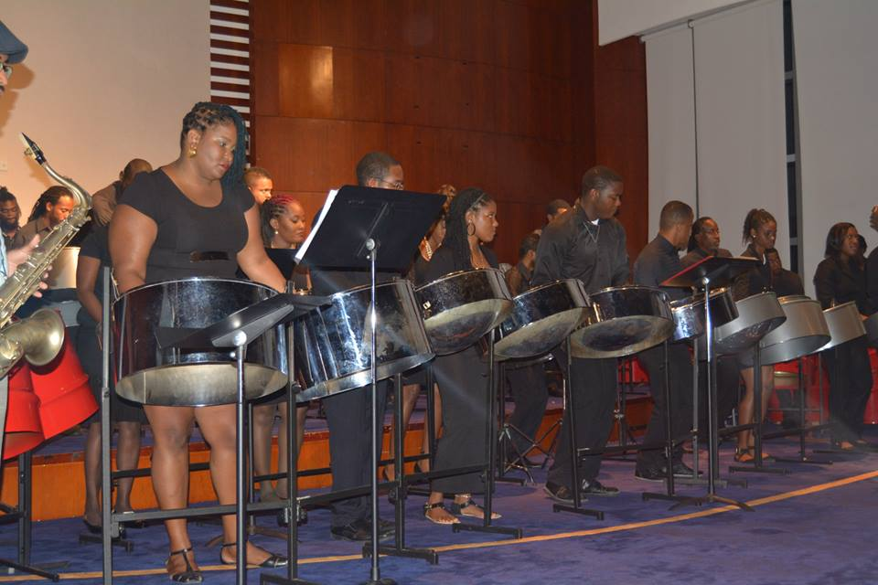 Steelpan lesson
